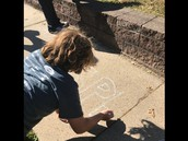 Week of Respect-chalk messages