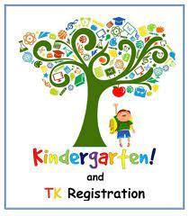 TK / Kindergarten Registration🖍🖌🖊📌