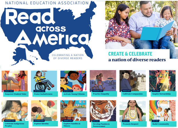 Read Across America: Celebrating a Nation of Diverse Readers. Click here for highlights from Cameron Ranch.