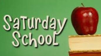 Saturday School Information
