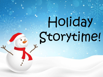 Holiday Storytime Virtual Event