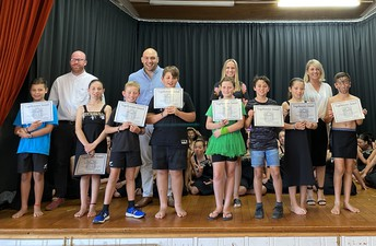 Paetoki (Seniors) Vogeltowners award recipients