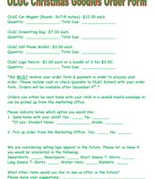 OLGC Christmas Goodies Order Form