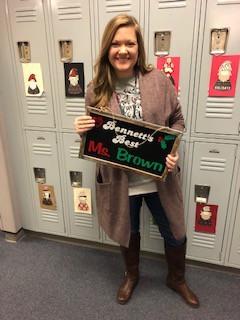 Ashley Brown   Bennett's Best Recipient
