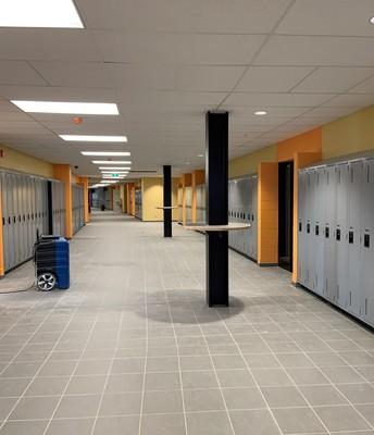 Third-floor hallway