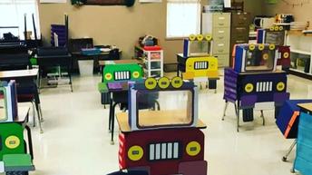A Texas kindergarten classroom