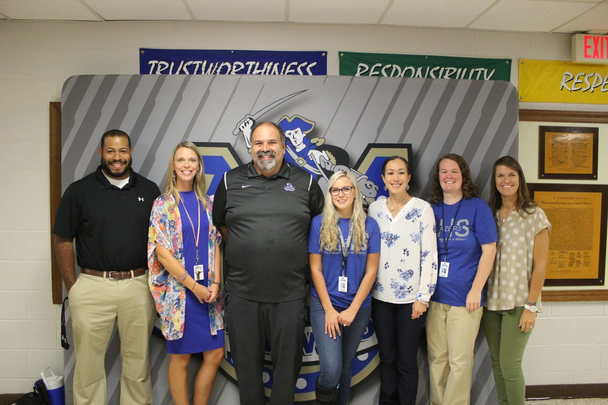 Photo of SHS Special Education staff.