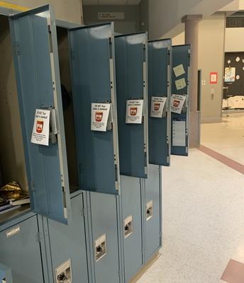 Open Lockers