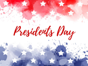 President's Day - School is in Session!