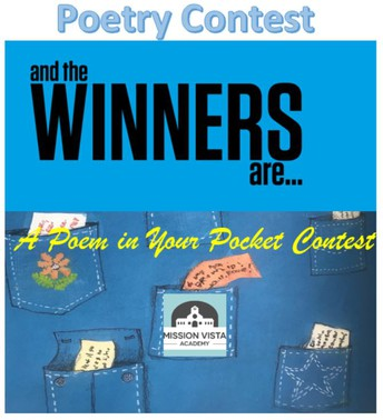 A Poem in Your Pocket Contest Winners