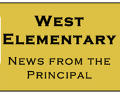 West News from the Principal