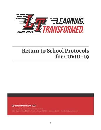 District updates COVID protocols