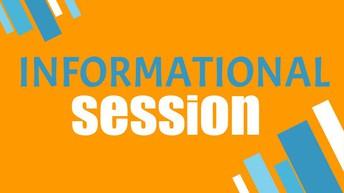 JUNIORS & PARENTS: Info Sessions