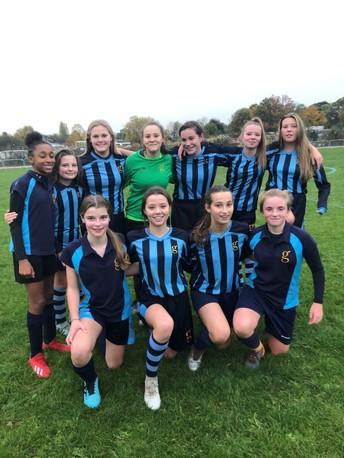 U14 Girls Football County team