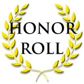 Why was my child's name not PUBLISHED in the Honor Roll when they earned it?