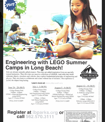 Engineering Summer Camps in Long Beach