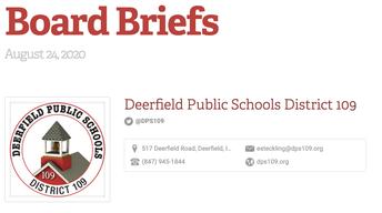 Board Briefs