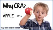 CRA = Concrete...Representational...Abstract