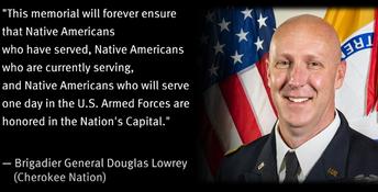 Brigadier General Douglas Lowrey (Cherokee Nation)