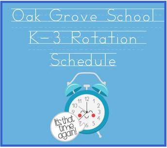 Rotation Schedule K-3