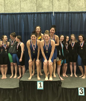 400 Free Relay - 1st