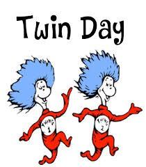 Upcoming Spirit Day - Twin Day