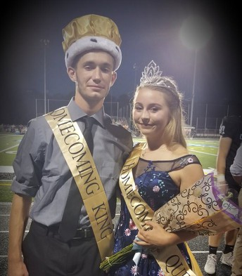 Avery and Abigail crowned 2018 King and Queen