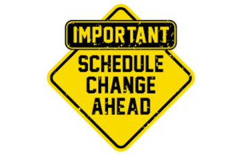 Schedule for the Week of 12/14/20