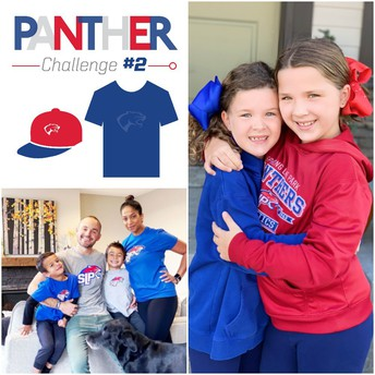 Show your Panther Spirit for Challenge #2