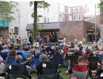 Tunes at Twilight (Thursday evenings through July 19)