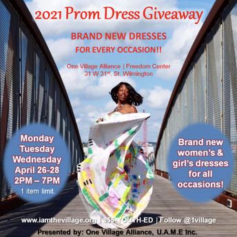 2021 Prom Dress Giveaway