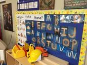 Letter Bulletin Board
