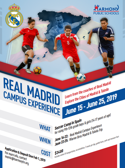 Soccer Camp in Madrid