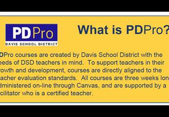 PDPro Courses Available to You