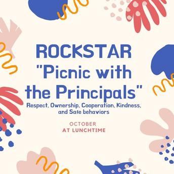Thursday, 10/24 ROCKSTAR Picnic this Week