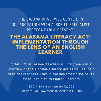 The Alabama Literacy Act: Implementation Through the Lens of an English Learner