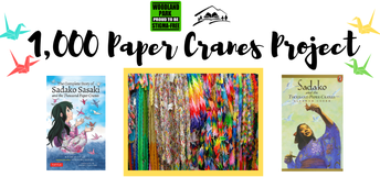 Library, Stigma Free Task Force launch 1,000 Paper Cranes Project