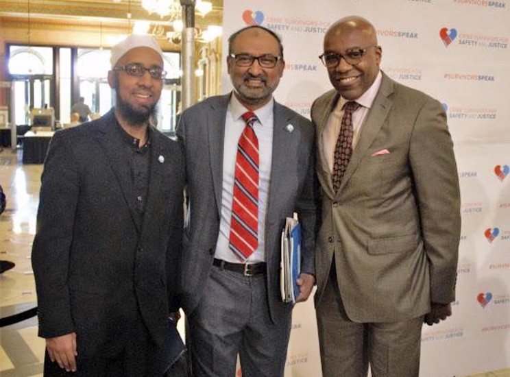 IFN Imam with Illinois Attorney General Kwame Raoul