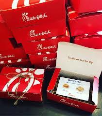 Chick-fil-A Gift Box