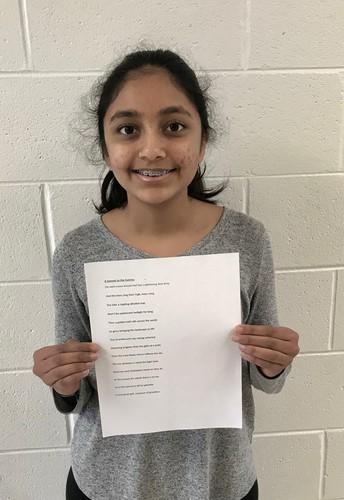 Tamanend Student Poet Honored