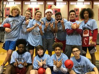 8th Grade Dodgeball Champions!