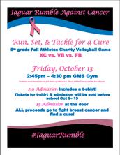 Jaguar Rumble Against Cancer