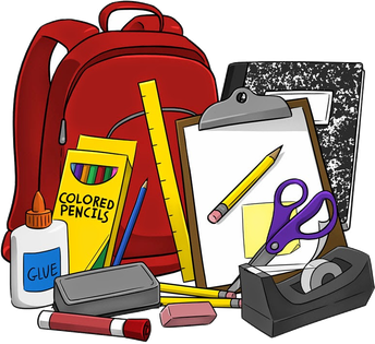 Supply Lists for Grades K - 6