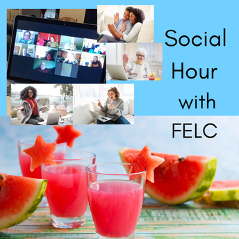 Save the Date-July 10th Social Hour on Zoom