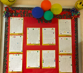 Displaying Student Writing