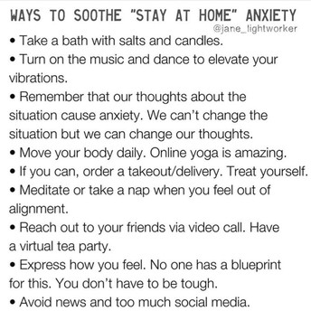 Soothe Anxiety