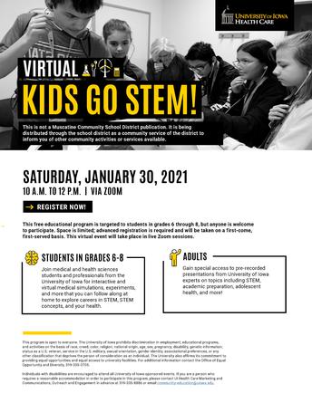 Virtual Kids Go STEM!