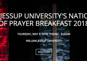 William Jessup University Prayer Breakfast for the National Day of Prayer
