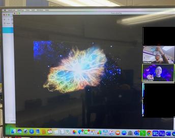Fun Happenings on Zoom: Visiting Scientist
