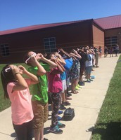 CRES views the Solar Eclipse!